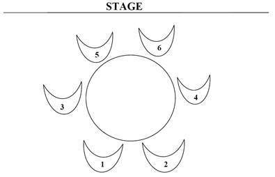 Dixie Theatre Seating Chart