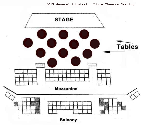 General Admission Seating